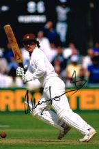 Allan Lamb Autograph Signed Photo